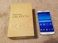 I have 1 Galaxy S4 Samsung android phones by Verizon in