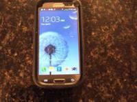 Great shape Samsung galaxy S III smart phone. Phone is