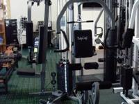 Galena Home Gym with all the Attachments 200lb stack