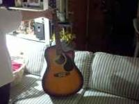 I have a Galveston electric acoustic guitar for sale it