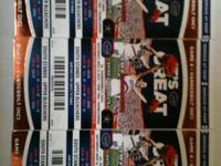 I have 3 gator football tickets for this Saturday Nov 9