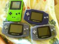Gameboy Advance $25 each Call Lisa  Location: