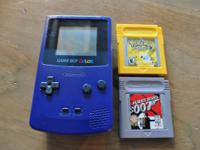 Hi, I'm selling my Gameboy Color with 2 video games.