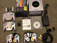 Nintendo Game Cube Bundle includes: Game Cube with