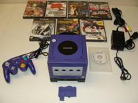 Up for sale is a pre owned Game Cube System / Game Boy