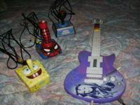 I have a Hannah Montana plug n' play guitar $10  I have