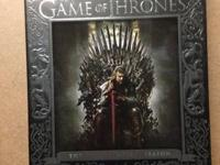 Season on game of thrones blu ray.. Package is opened