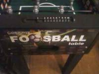 Six month old foosball table. High quality table still