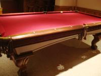 Outstanding Pool Table - American Heritage Approx 8