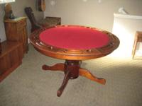 Game table for sale by original owner. The ?Seville?