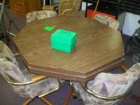 ON SALE THIS WEEK 4 IN ONE GAME TABLE WITH 4 NICE
