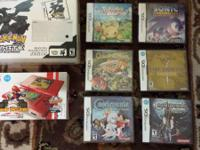 Up for sale is my Nintendo DS collection... All prices