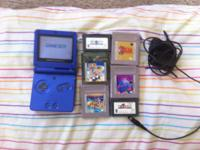 Included Items: GameBoy Advance SP (blue) Charger Final