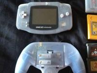 I'm selling my glacier blue gameboy advance. With