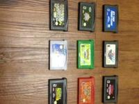 Selling off my collection of gameboy advanced games.
