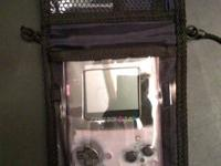 in great condiction,a see-thru purple color gameboy,