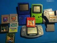 Gameboy lot $55 Headset $50