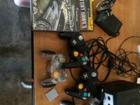 I have a game cube with 5 games all cords 4 controllers