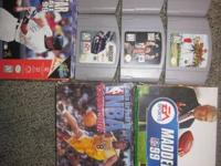 I have games as listed below. $30 for everything. If