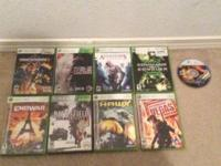 Make me an offer for all xbox or ps2 or 360 xbox games.