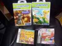 Nintendo DS Zoo Keeper game. $10 2 leapster games