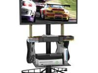 Atlantic 88307053 Spyder TV Gaming Stand: Sleek and