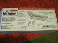 NEW in BOX Garage heater Mr. Heater MH25NG 25,000-BTU