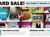 Garage Sale - Tech, Kids, Furniture (Williamsburg,