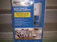 Garagemaid Large Capacity Storage Cabinet. In box,