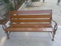 Garden bench new 1 pice 5 feet i am manufacture of cast