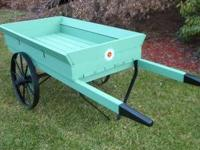 Here is a wonderful garden cart for your yard,garden,or