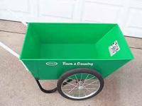 GREEN GARDEN CART RADIO FLYER, TOWN & COUNTRY.THIS IS A