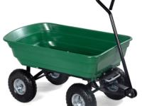 This Is Our Dump Cart Which Has An All-Steel