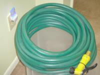 Garden hose for sale. Hardly used in very good