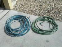 I have two garden hoses for sale. Each are 30ft long.