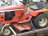 Allis Chalmers Model 710 Garden Tractor- Tractor is in