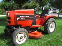 Powerking Tractor All Gear Drive. Iron front axle and
