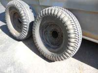 I have two Lawn and Garden tires and wheels. They have