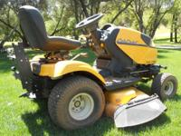 "2008 Cub Cadet i1050 zero turn garden tractor: 50"""