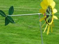 LARGE GARDEN WINDMILLS HANDMADE ,STAND ABOUT 6 FEET