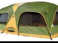 Coleman Salmon River Cabin Tent 10 12 Person 16x12 2 Room