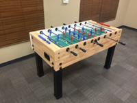 Brand New, Italian Made Garlando G-500 Foosball Table.