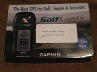 Garmin GolfLogix Advanced GPS Receiver; never used -