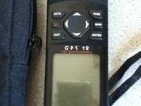 Garmin GPS 12. Like new. Great for school or first time