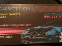 Detailing for your automobile...lower quotes than