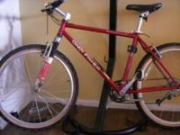I have a red Gary Fisher Mountain Bike fore sale. It is