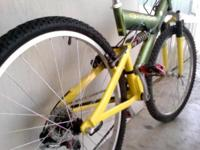 I'm selling this bike because I no longer need it. The