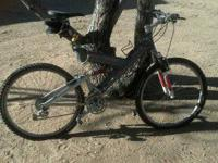 I have an all aluminum Gary Fisher Mountain Bike.  Full