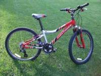 Gary Fisher boys bike, used but in excellent condition.