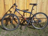 excellent starter mtb for sale! in suitable shape. just